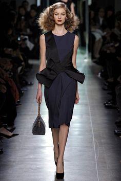 Bottega Veneta Fall 2013  Black Dress #2dayslook #kelly751 #ramirez701 #BlackDress   www.2dayslook.com