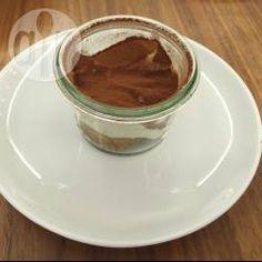 Rezeptbild: Tiramisu ohne Ei im Glas