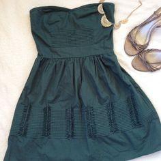 Hpkimchi Blue Strapless Sweetheart Dress