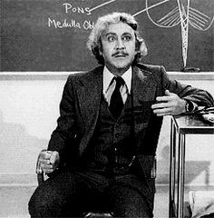 'Young Frankenstein' Gene Wilder (gif).