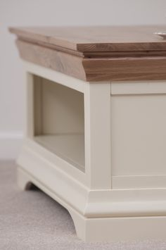 Country Cottage Painted Funiture Living Room | Cream Coffee Table Oak  Furniture Land Www.oakfurnitureland