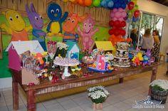 FESTA DOS BACKYARDIGANS - THE BACKYARDIGANS PARTY