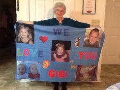 Granny and her grandkids