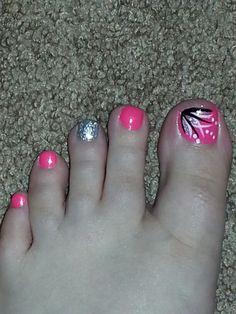 My toenails. Did them myself. :)