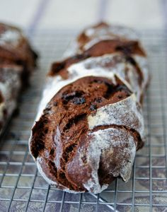 Chocolate sourdough Bread