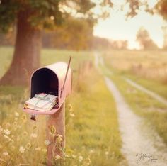 mail. REAL mail.