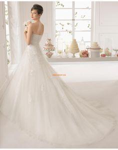 Scintillant & brillant Brillant & Séduisant Fleurs Robes de mariée 2015