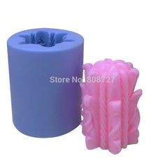 Candle Moulds 3D Silicone Moulds For Candles LZ0033 NICOLE
