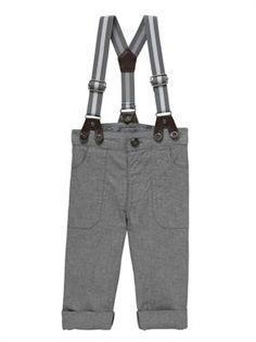 Pantalón con tirantes para nenes :-)