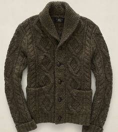 RRL Shawl-Collar Cardigan