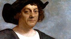Dit is Columbus hij heeft in 1492 Amerika ontdekt. Maar omdat hij dacht een nieuwe route naar India gevonden te hebben noemde hij de bevolking indianen  Indianen : de oorspronkelijke in winters van India