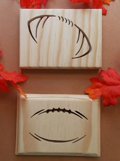 Football Block Unfinished Diy Decoration
