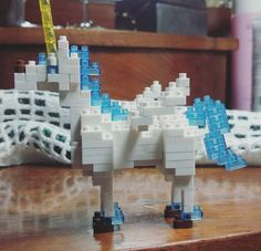 // P E G A S U S // #nanoblock #unicorn #pegasus #DIY #bae #pressie