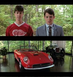 """Bonhams to Auction Prop Ferrari Spyder California Used in """"Ferris Bueller's Day Off"""" Ferris Bueller, Save Ferris, Classic Car Insurance, Cinema, Film Movie, 80s Movies, Day Off, Back In The Day, My Father"""