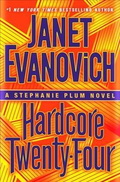 HARDCORE TWENTY-FOUR by Janet Evanovich -- Publish Date: 11/21/17 – This Jersey girl hits hard—twenty-four seven. The blockbuster Stephanie Plum series continues with Hardcore Twenty-Four from #1 New York Times bestselling Janet Evanovich.