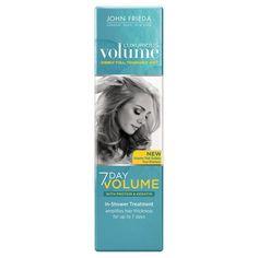 John Frieda Luxurious Volume 7 Day Volume In-Shower Treatment - 4 oz