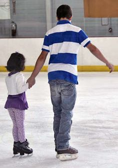 $40 - Ice Skating Admission for Four with Skate Rentals, Food, and Soda