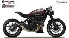 Gannet Design - Diseño de motos custom y productos. Entra y flipa con todos los diseños creativos de estas motos.