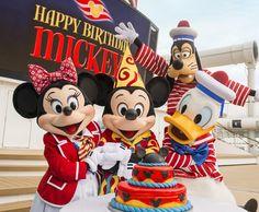 Birthdays are always better when celebrated on a #DisneyCruise! Happy Birthday, boss!