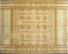Megerian rug.  great post on rugs
