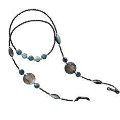 Diy Glasses, Sunglasses Holder, Face Mask Set, Eyeglass Holder, Stone Jewelry, Eyewear, Beaded Necklace, Jewelry Making, Fashion 2018