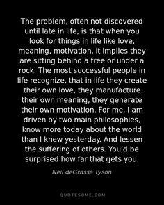 Neil deGrasse Tyson << spot on.
