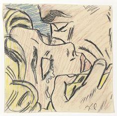Image result for Roy Lichtenstein kiss v