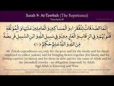 Quran: 9. Surat At-Tawbah (The Repentance): Arabic and English translation HD - YouTube