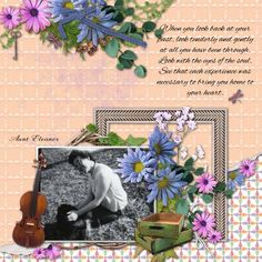 Created with Ozark Mountain Home by ADB Designs.This collection celebrates the unique beauty of this part of the United States with a plethora of flowers and foliage, and an appreciation for the special music of the area with instruments and music inspired accents. Contains14 papers and 103 unique elements. Perfect for many genres of scrapbooking ,like family, Weddings and outdoors…