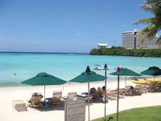 Guam. Look at that beach!