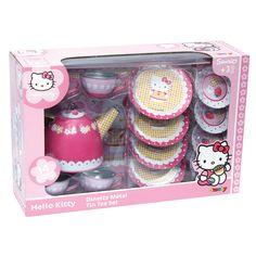 Hello Kitty Metal Hello Kitty Tea Set - Beyond the Rack