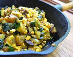 Cantinho Vegetariano: Abobrinha e Milho ao Curry (vegana)