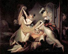 John Henry Fuseli, Falstaff in the Laundry Basket   Dark Classics, 1792 ... Merry Wives of Windsor