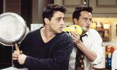 Joey e Chandler <3