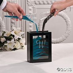 A Lovely Alternative To Lighting Unity Candle And Especially Por At Destination Or Beach Weddings Sand Ceremonies Are Beautiful Way Symbolize