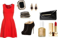 B✪✪M, created by williamrossi on Polyvore... I'd do different shoes, but love the rest!