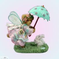 Cherished Teddies CLARISSA Garden Figurine Ltd Ed New in box - no fees - free ship