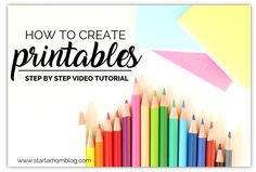How To Create Freebies, Printables, and Opt-ins To Grow Your Email List - Step by Step Video - Start a Mom Blog