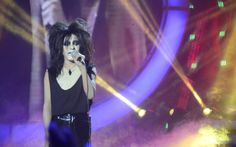 """Breakout Child Star Awra Briguela transformed to American rock singer Alice Cooper on Your Face Sounds Familiar: Kids Edition. In an episode aired Sunday, March 5, Awra emotionally delivered his own version of """"I Never Cry."""" ALSO WATCH: Your Face Sounds Familiar Kids Edition March 5 Episode """"You are really good. Congratulations,"""" said Ogie Alcasid. """"God bless you. We love you,"""" said Gary Valenciano. """"God is good all the time."""" """"I know the pain that you are going through. I agree with Gary…"""