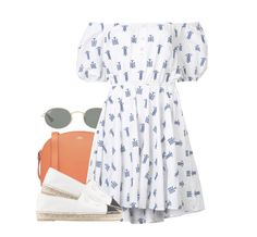 """""""#3907"""" by julianaimp ❤ liked on Polyvore featuring A.P.C., Ray-Ban, Caroline Constas and Chanel"""