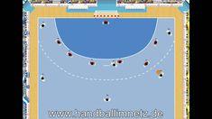 Handball Spielzug - Fast