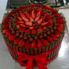 Strawberries and chocolate