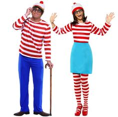Where's Wally Book-Themed Costumes for Teachers