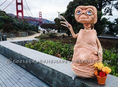 Realistic Homemade E.T. Costume...