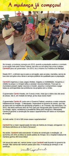 Blog do Osias Lima: Informativo da Deputada Janete Capiberibe. Camilo ...