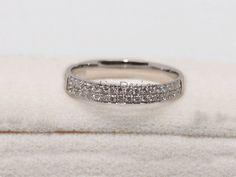 14K Hochzeitsband Conlict gratis Diamant Ehering von LynnLinDesign