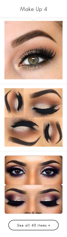 """Make Up 4"" by the-walking-dez ❤ liked on Polyvore featuring beauty products, makeup, eye makeup, eyes, beauty, make, eyeshadow, palette eyeshadow, eye brow makeup and gel eye liner"
