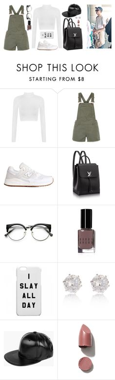"""""""Street fashion with Rap Monster"""" by got7outfits ❤ liked on Polyvore featuring WearAll, New Look, New Balance, Bobbi Brown Cosmetics, River Island and Boohoo"""