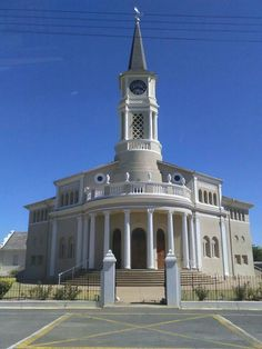 Porterville NGK Dutch Reformed Church - Porterville, Western Cape San Francisco Ferry, South Africa, Dutch, Cape, Buildings, Mansions, The Originals, House Styles, Mantle