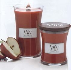 WoodWick candles,these are awesome.They smell great and sound like a crackling fire.